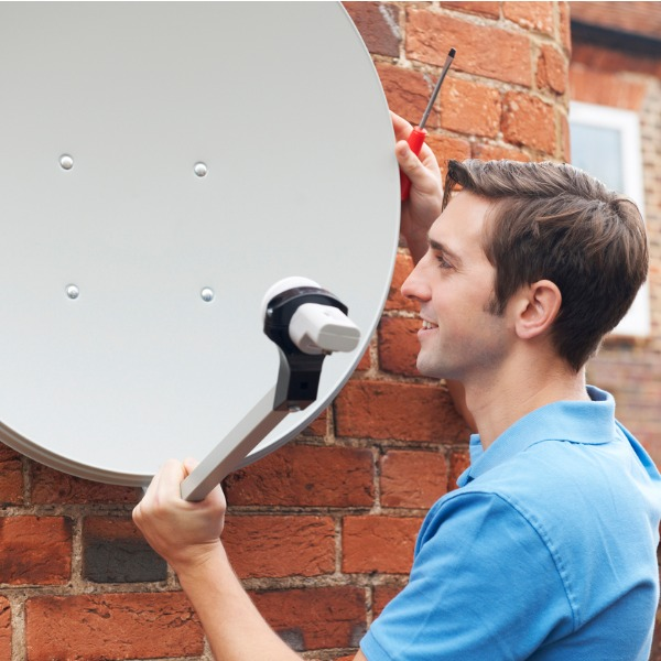 Satellite Dish Fitting