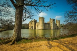 bodiam castle east