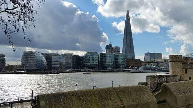london shard city