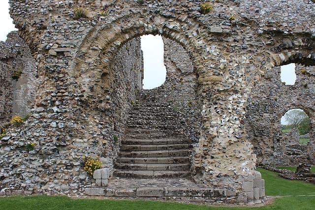 stairway ruins doorway