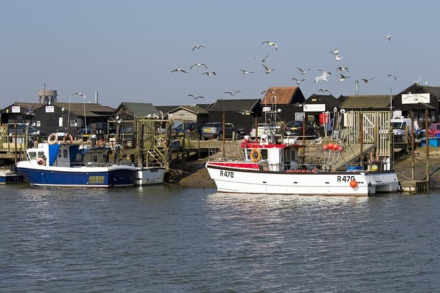 southwold harbour suffolk