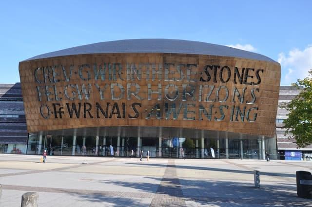 Cardiff Millennium Centre, Wales, UK