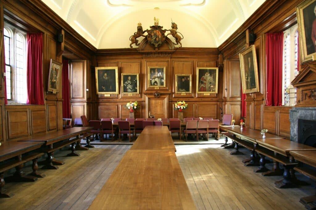 oxford england hall uk