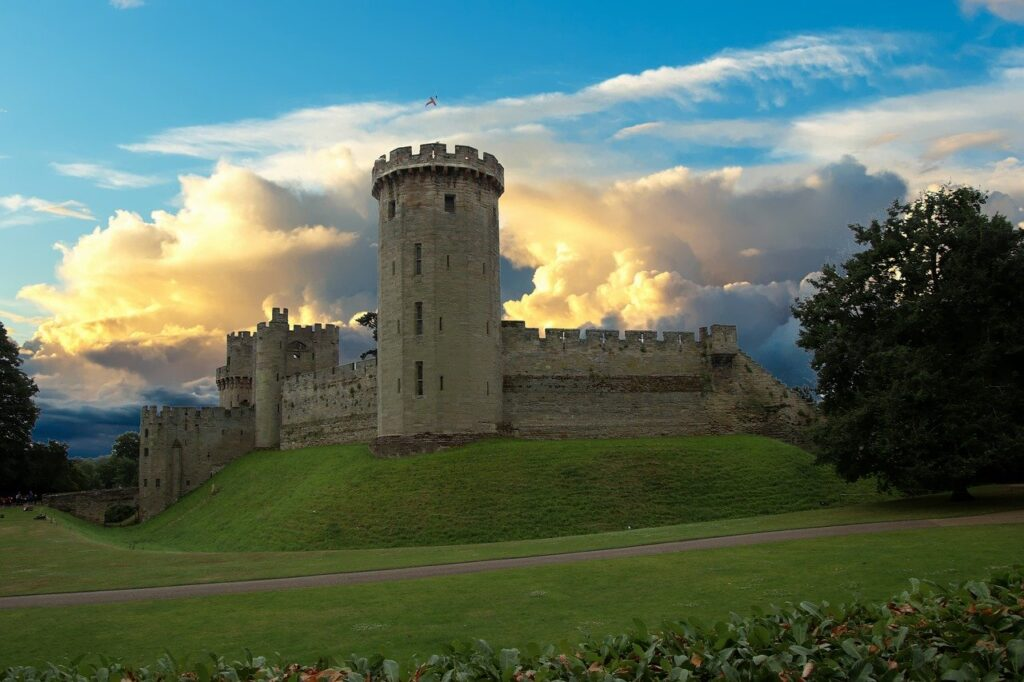 warwick castle fort