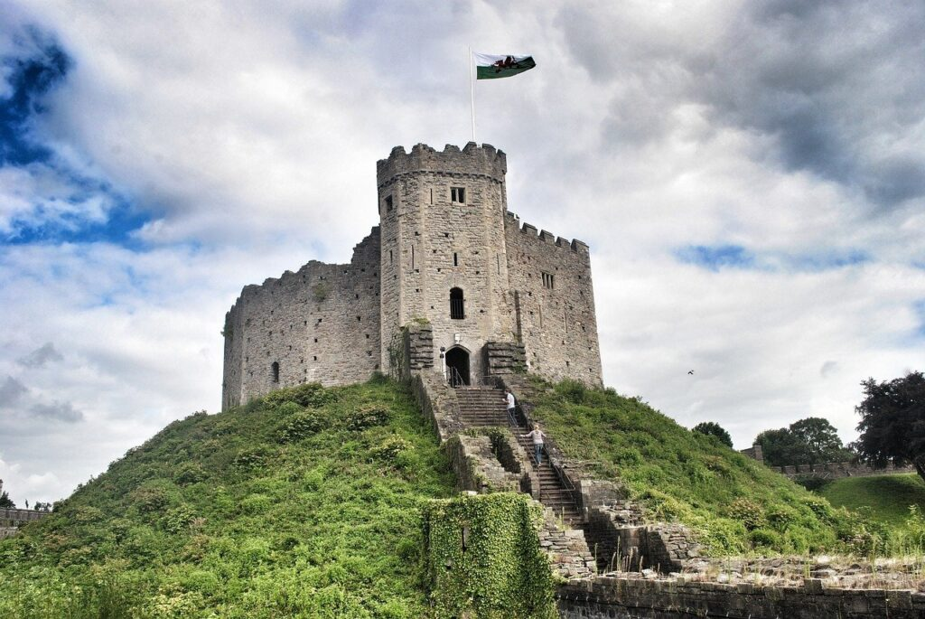 castle cardiff wales